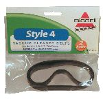 Bissell Belt Flat Style 4 2 pack