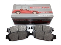 Front - Metallic Brake Pads (Akebono Silver Calipers)