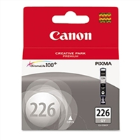 Canon 4550B001 (CLI-226GY) OEM Gray Ink Cartridge