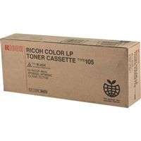 Ricoh 885372 (Type 105) OEM Black Toner Cartridge