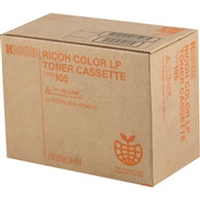 Ricoh 885373 (Type 105) OEM Yellow Toner Cartridge