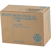Ricoh 885375 (Type 105) OEM Cyan Toner Cartridge
