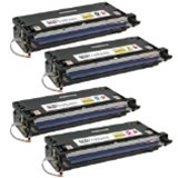Xerox Phaser 6180 Series Compatible Toner Cartridge Value Bundle (C,K,M,Y)
