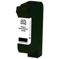 HP C6195A Remanufactured ZENITH QUICK DRY Black Inkjet Cartridge