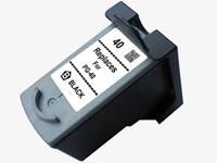 Canon PG-40 Remanufactured Black Ink Cartridge