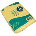 Isolation Gown Fluid Resistant - Universal Size, Yellow (5 per pack)