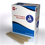 "Tongue Depressor, Non Sterile Senior 6"" - (10 boxes per case)"