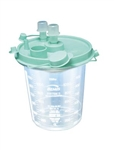 Smoke Evacuator Fluid Collection Canister 1200cc 6/box