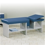 Clinton Industries Echo Image Full Shelf Manual Exam Table
