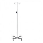 Clinton Industries Heavy Base 2-Hook IV Pole
