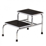 Clinton Industries Chrome Two-Step Step Stool