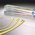 Foley Catheters, Latex, Silicone Coated, 5cc (10 per case)