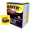 Bayer Aspirin 2/ct Single Dose Pouches (Box of 50 packets)