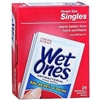 Wet Ones Antibacterial Hands & Face Wipes, Singles, Fresh