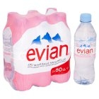 Evian Spring Water / 6 pack / 330ml ea