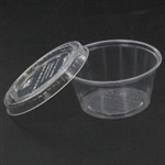 Condiment Cup w/lid - 50 ct