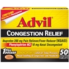 Advil Congestion Single Dose Pouches (Box of 50)