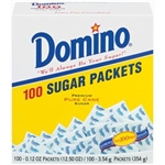 Sugar Packets - Single Serve - 100 Count