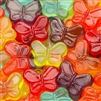 Gummi Mini Butterflies - 5 LB Bag