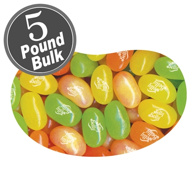 Jelly Belly Sunkist Citrus Mix Jelly Beans - 5 LB Bag