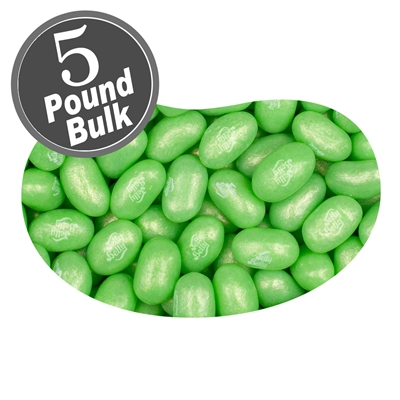 Jelly Belly Jewel Sour Apple Jelly Beans - 5 LB Bag