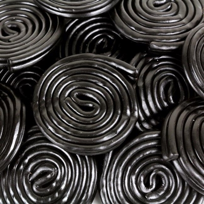 Licorice Wheels - 4.4 LB Bag