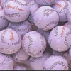 Foiled Milk Chocolate Baseballs - 1 LB Bag