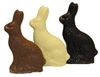 6 oz Solid Chocolate Bunny