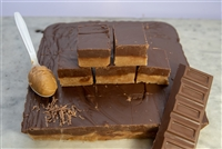 Peanut Butter and Chocolate Layer Fudge