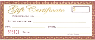 Wayside Country Store Gift Certificate