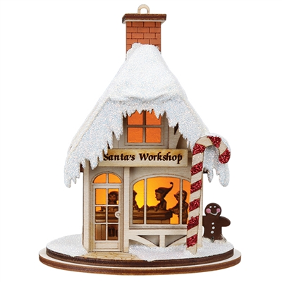 Ginger Cottages - Santa's Workshop