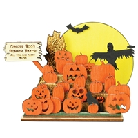 Ginger Boo! Haunted Pumpkins