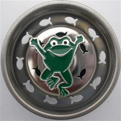 Linda Lou Jumping Frog Kitchen Strainer