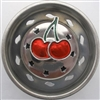 Linda Lou Cherries Kitchen Strainer