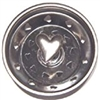 Linda Lou Pewter Heart Kitchen Strainer