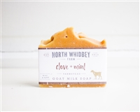 Clove + Mint Goat Milk Soap