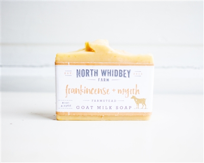 Frankincense and Myrrh Goat Milk Soap