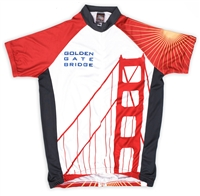 Biking Shirt - Golden Gate Bridge 75th Anniversary