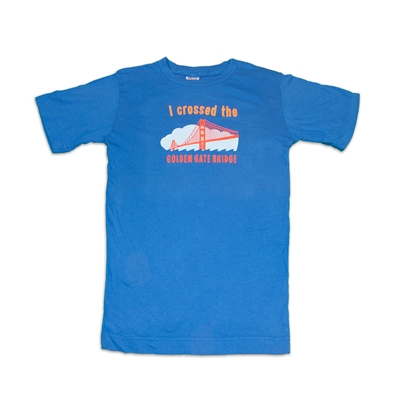 "T-Shirt - Kids ""I Crossed the Golden Gate Bridge"""