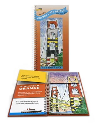 Book - Golden Gate Bridge Mix and Match