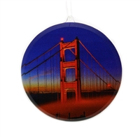 Window Ornament - Golden Gate Bridge Tower