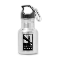 Stainless Steel Bottle - Golden Gate Bridge