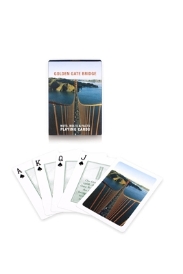 Playing Cards - Golden Gate Bridge Facts