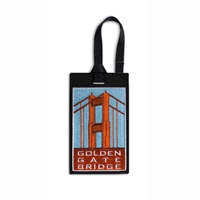 Luggage Tag - Golden Gate Bridge Vintage