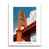 Unframed Poster - Golden Gate Bridge Graphic
