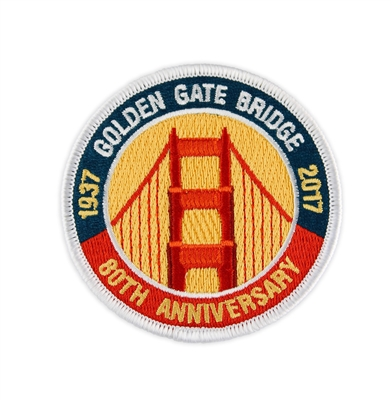Patch - Golden Gate Bridge 80th Anniversary