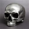 Full size Human Skull Maxilla in Silvered Steel