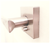 PRIVACY LEVER - SquareD- Satin Nickel