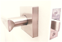 PASSAGE LEVER - SquareD- Satin Nickel