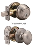 DEADBOLT & KNOB SET
